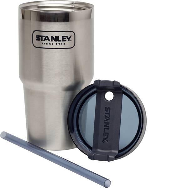 Thermos e tazze termiche - Stanley Quencher 591 silver Caraffa thermos Argento - Blu 591 ml 10-02662-001 -