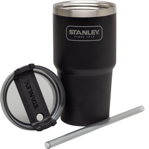 Thermos e tazze termiche - Stanley Quencher 591 black Caraffa thermos Argento-Nero 591 ml 10-02662-002 -