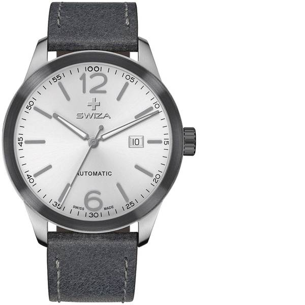 Orologi da polso - SWIZA Automatico Orologio da polso WAT.0266.2201 (Ø) 42 mm Acciaio Materiale cassa=Acciaio inox Materiale  -