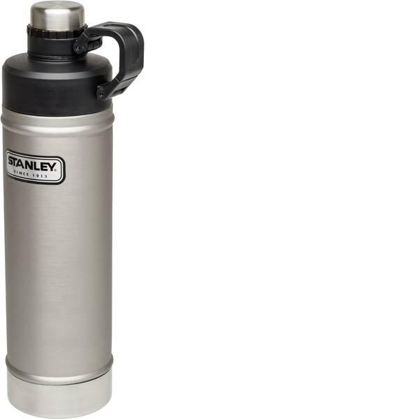 Thermos e tazze termiche - Stanley Classic Vakuum-Bottle Bottiglia termica Argento-Nero 750 ml 10-02286-004 -