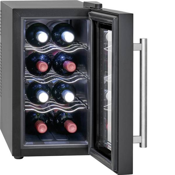 Frigoriferi - Profi Cook PC-GK 1163 Frigorifero in vetro Classe energetica: A+ (A+++ - D) 21 l Stand alone Nero -