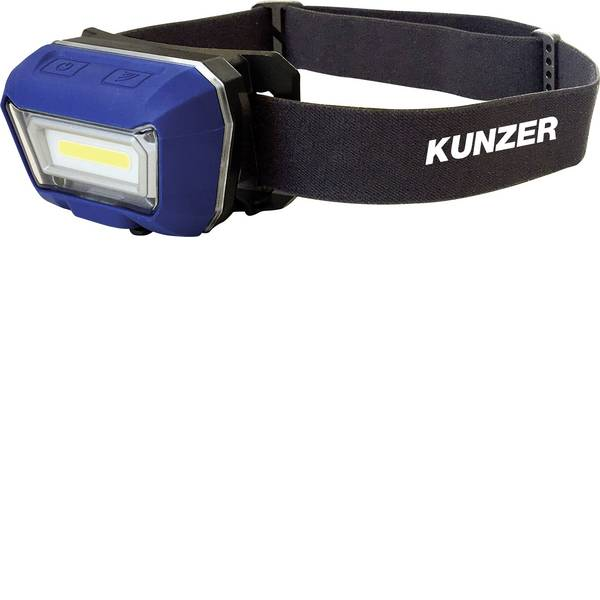 Lampade da testa - Kunzer LED Lampada frontale a batteria ricaricabile 280 lm HL-001 -