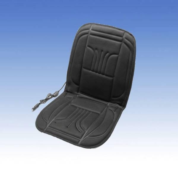 Coprisedili riscaldati e rinfrescanti per auto - Rivestimento riscaldante per sedile Unitec 12 V 2 livelli di calore Nero -