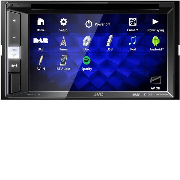 Autoradio e Monitor multimediali - JVC KW-V255DBT Moniceiver doppio DIN Collegamento per controllo remoto da volante, Collegamento per telecamera  -