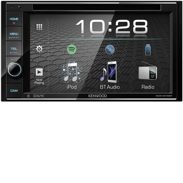 Autoradio e Monitor multimediali - Kenwood DDX4019DAB Moniceiver doppio DIN Collegamento per telecamera posteriore, Collegamento per controllo remoto da  -