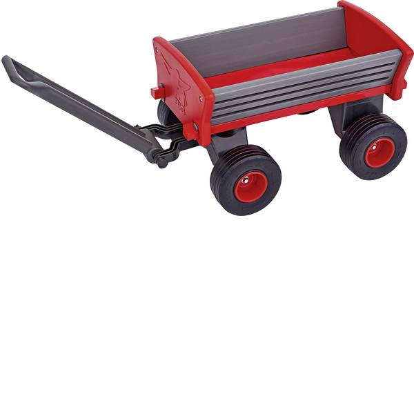 Auto a spinta - Rimorchio a spinta per bambini Big Peppy carretto a mano Antracite -