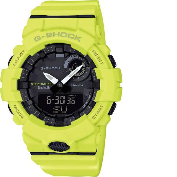 Orologi da polso - Casio Cronografo Orologio da polso GBA-800-9AER (L x L x A) 54.1 x 48.6 x 15.5 mm Giallo Materiale cassa=Resina  -