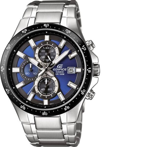Orologi da polso - Casio Cronografo Orologio da polso EFR-519D-2AVEF (L x L x A) 48.1 x 43.4 x 11.4 mm Argento Materiale cassa=Acciaio inox  -