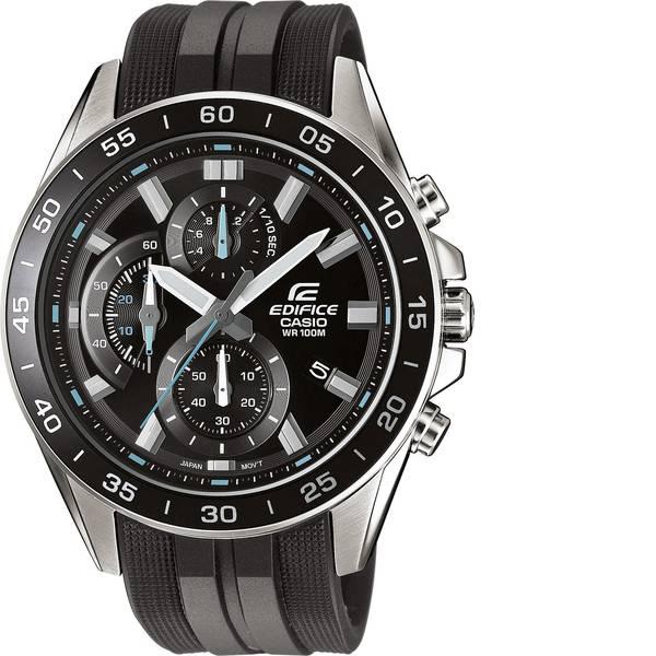 Orologi da polso - Casio Cronografo Orologio da polso EFV-550P-1AVUEF (L x L x A) 53 x 47 x 12.1 mm Argento, Nero Materiale cassa=Acciaio  -