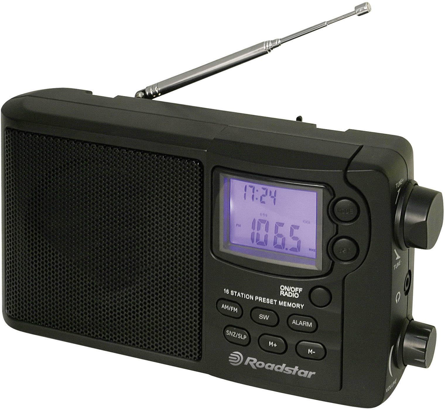 Roadstar TRA-2340PSW Ricevitore mondiale multibanda AM, FM Nero