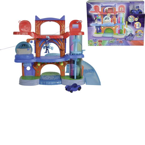Giochi per bambini - Simba PJ Masks Hauptquartier Spielset 109402040 -