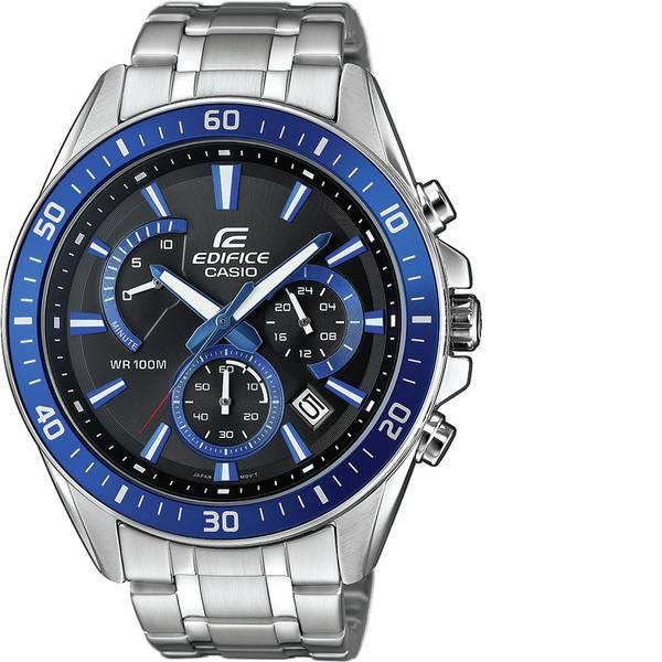 Orologi da polso - Casio Cronografo Orologio da polso EFR-552D-1A2VUEF (L x L x A) 53 x 47 x 12.3 mm Argento - Blu Materiale cassa=Acciaio  -