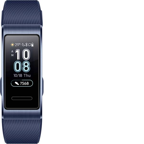 Dispositivi indossabili - HUAWEI Band 3 Pro Fitness Tracker Uni Blu -