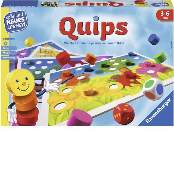 Giochi di società e per famiglie - Ravensburger Lernspiel Quips 24920 -