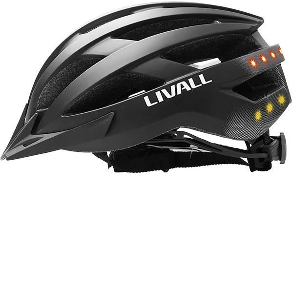 Caschi da bicicletta - Livall MT1 Casco MTB Nero Taglia=M circonferenza cranica=54-58 cm -