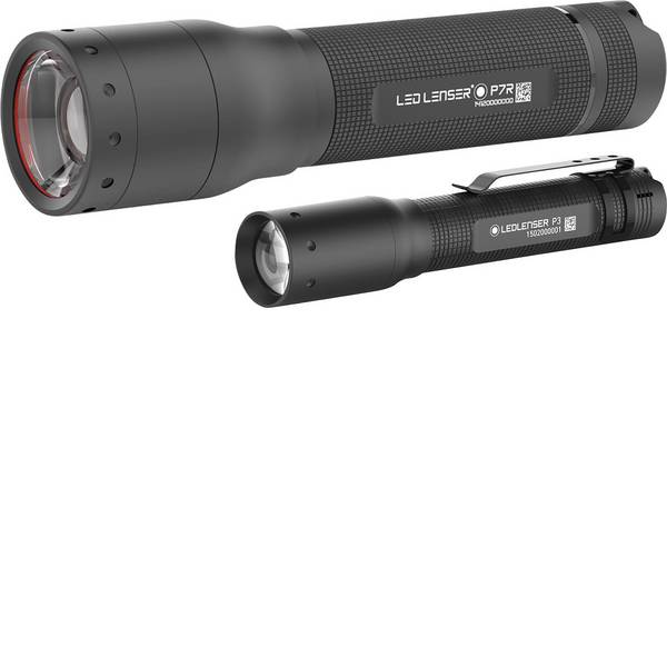 Torce tascabili - Ledlenser P7R & P3 LED Torcia tascabile a batteria ricaricabile, a batteria 1000 lm 2 h 210 g -