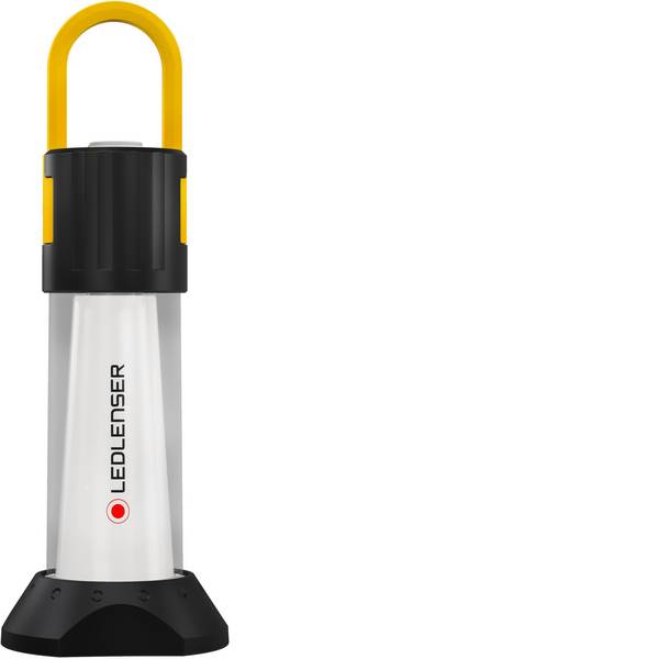 Lampade per campeggio, outdoor e per immersioni - LED Lanterna da campeggio Ledlenser iA6R 750 lm a batteria ricaricabile 280 g Nero giallo 501962 -