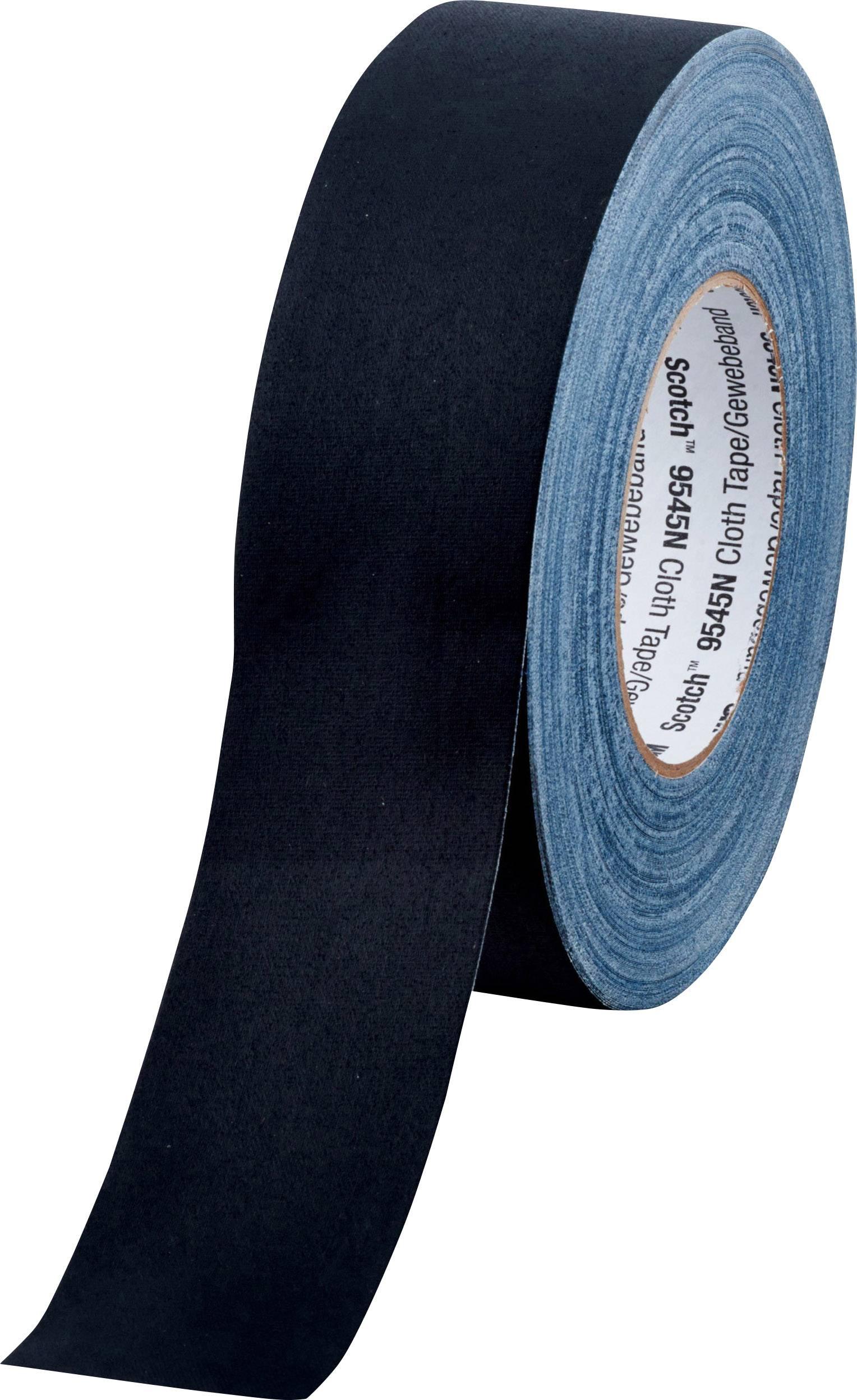 3M 9545NB50 Nastro in tessuto Scotch® Nero (L x L) 50 m x 50 mm 1 Rotolo(i)