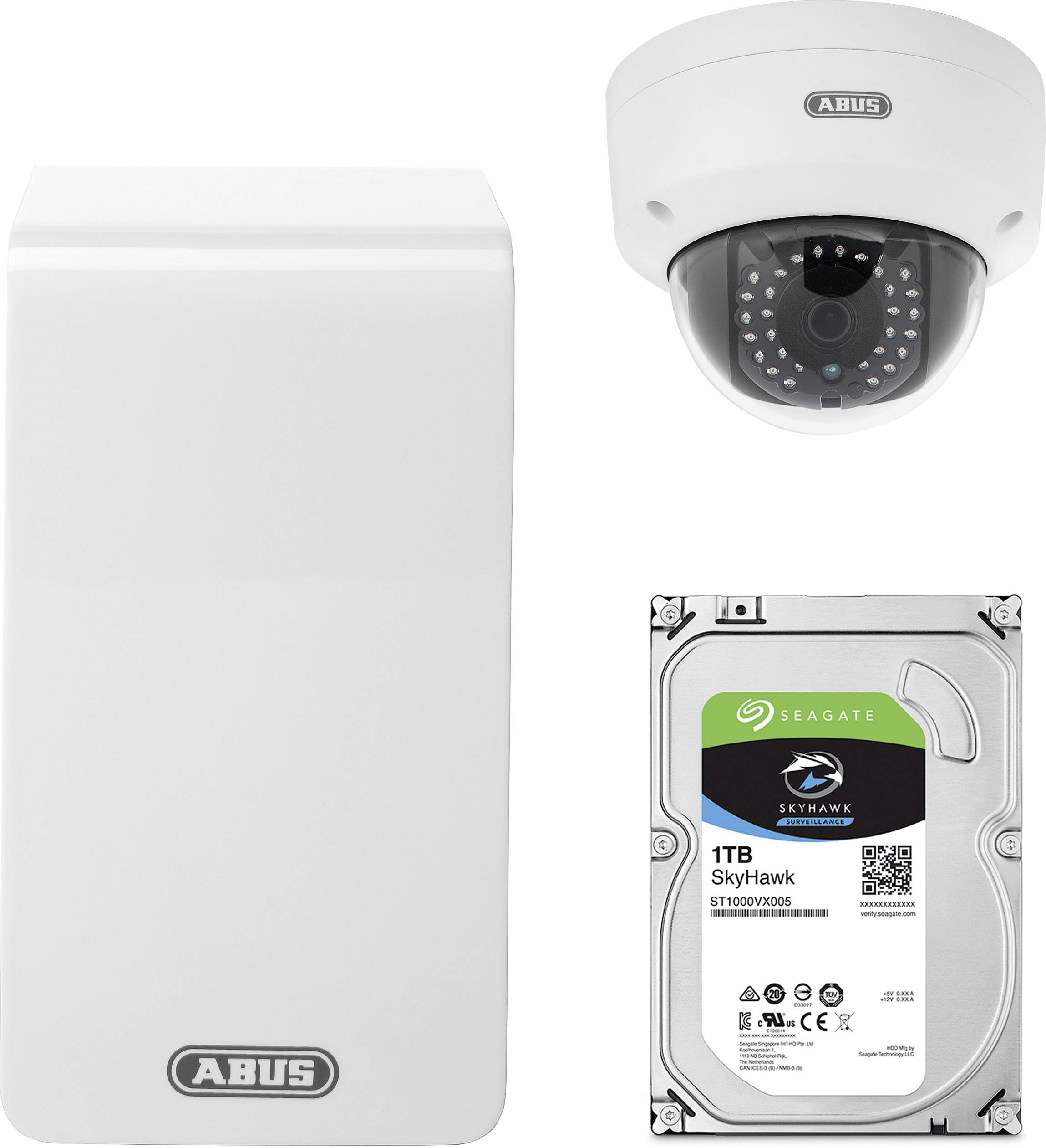 Kit videosorveglianza IP LAN,