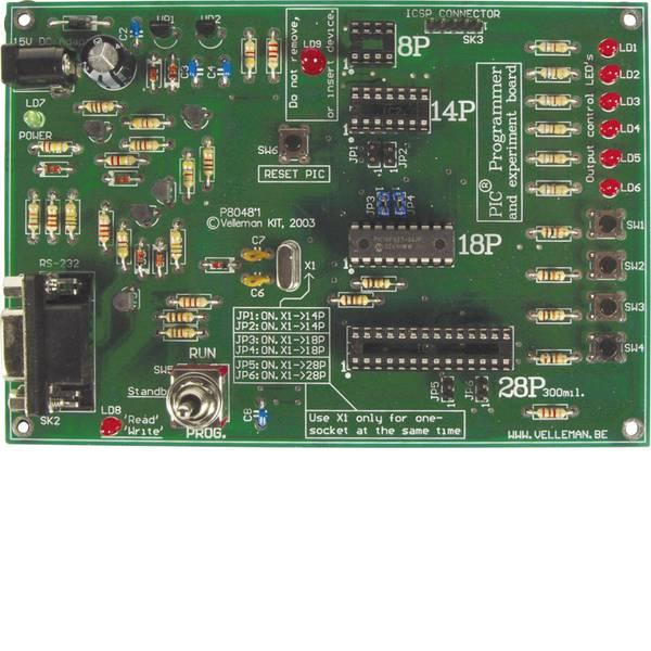Kit e schede microcontroller MCU - Velleman Scheda di sviluppo K8048 PIC18 -