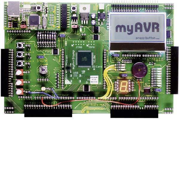Kit e schede microcontroller MCU - myAVR Scheda per esperimenti AVR Entwicklungsboard MK3 / 64 K -