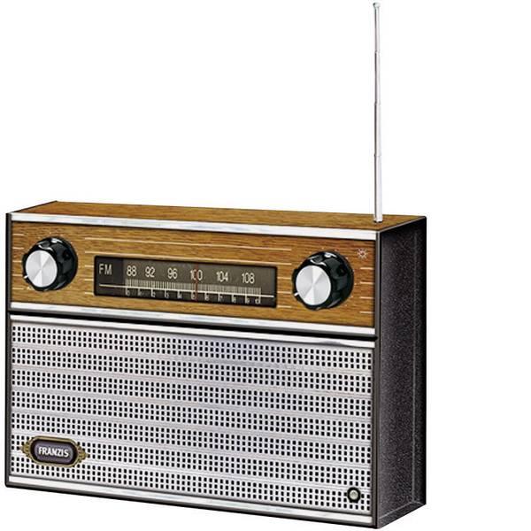 Kit retrò da costruire - Franzis Verlag FM Radio Retrò da 14 anni -