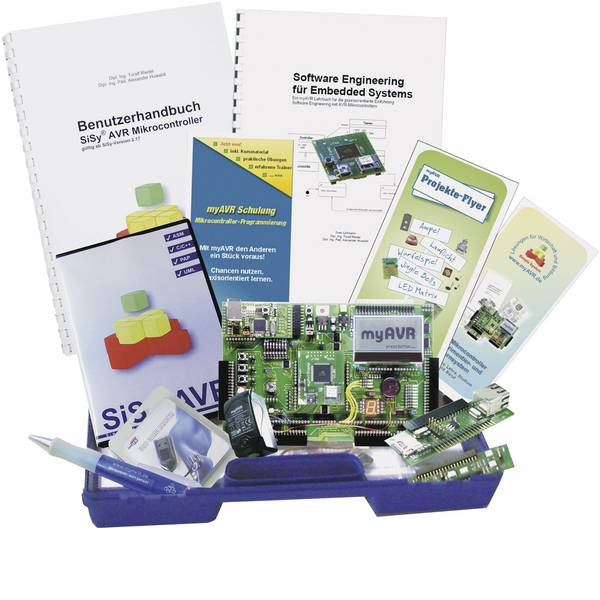 Kit e schede microcontroller MCU - myAVR Starter kit MK3 PLUS -
