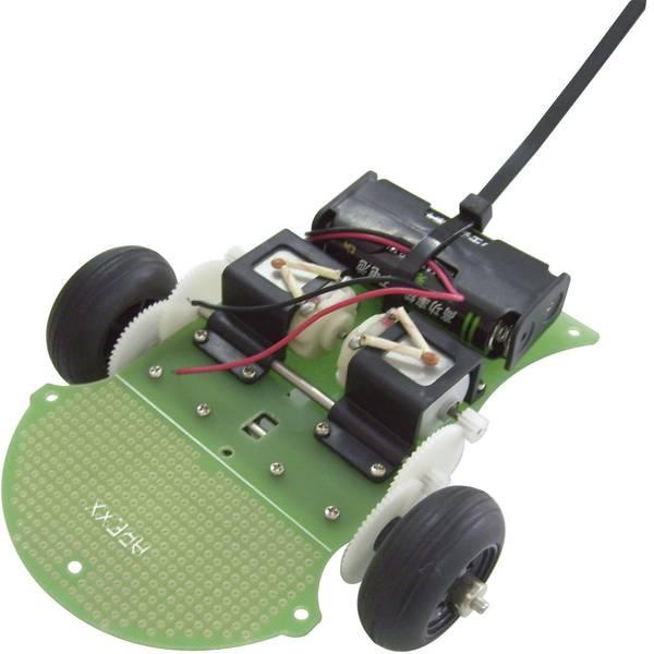 Robot in kit di montaggio - Arexx Robot supporto mobile ARX-CH09 Modello (kit/modulo): KIT da costruire -
