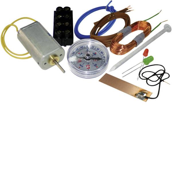 Kit retrò da costruire - Kemo Der kleine Elektroniker Kit per esperimenti da 14 anni -