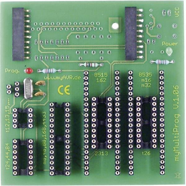 Kit e schede microcontroller MCU - myAVR Programmatore USB myMultiProg MK2, Bausatz -