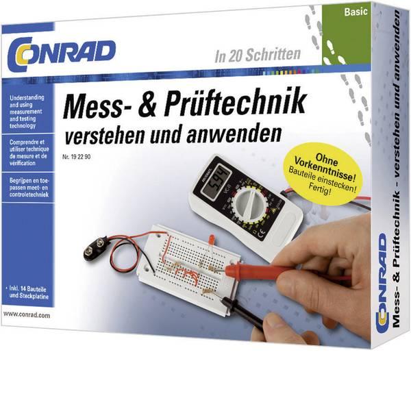 Kit esperimenti e pacchetti di apprendimento - Pacchetto di apprendimento Conrad Components Basic Mess- & Prüftechnik 10091 da 14 anni -