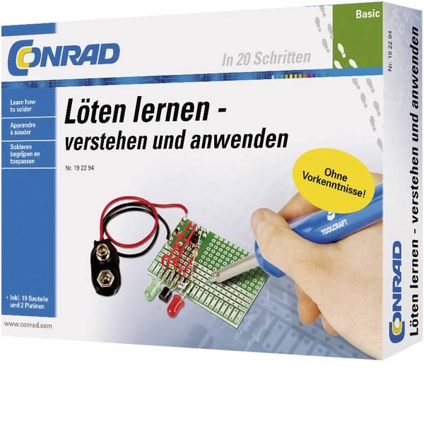 Kit esperimenti e pacchetti di apprendimento - Pacchetto di apprendimento Conrad Components Basic Löten lernen 10062 da 14 anni -