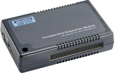 Modulo I/O DI/O, USB Advantech USB-4751-AE Numero I/O: 48