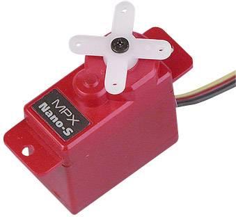 Multiplex Mini Servo Nano-S Servo analogico Materiale trasmissione: Plastica Sistema innesto: JR