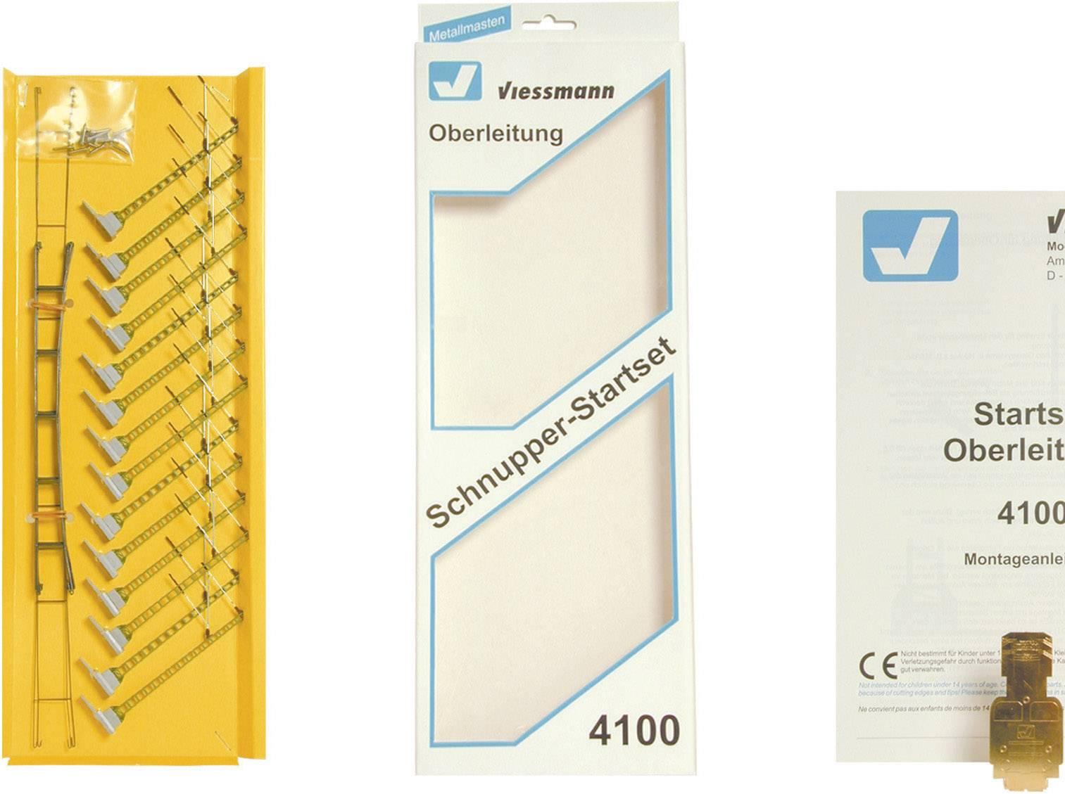 Per PzConrad Starter it 1 4100 Universale Catenaria H0 Viessmann Kit pjLGzMVqSU