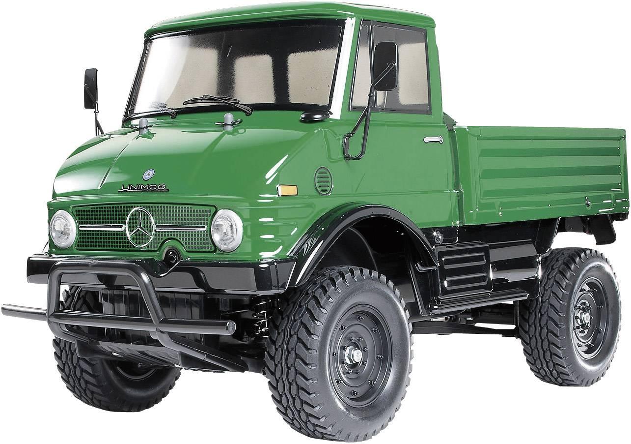 Automodello Tamiya Unimog 406 Brushed 1:10 Fuoristrada Elettrica 4WD In kit da costruire