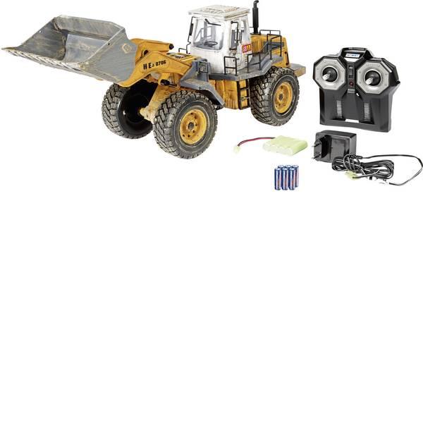 Trattori e mezzi da cantiere RC - Ruspa Modellino per principianti Carson Modellsport 1:14 Veicolo incl. Batteria, caricatore e batterie telecomando -
