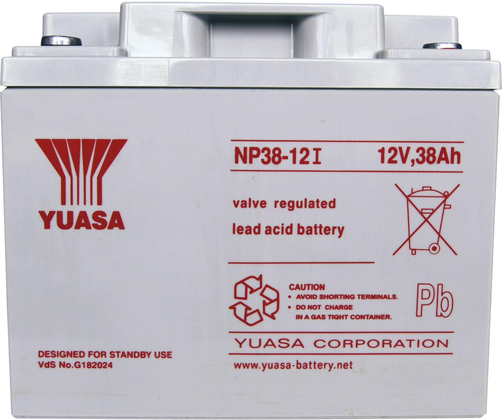 Yuasa NP38-12 NP38-12 Batteria al p