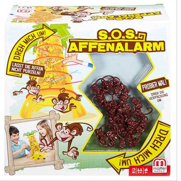 Giochi per bambini - Mattel SOS Affenalarm 52563 -
