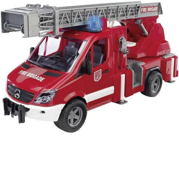 Veicoli senza telecomando - Sprinter vigili del fuoco Bruder Mercedes Benz con scala, pompa dellacqua e moduli luminoso e sonoro 2532 -