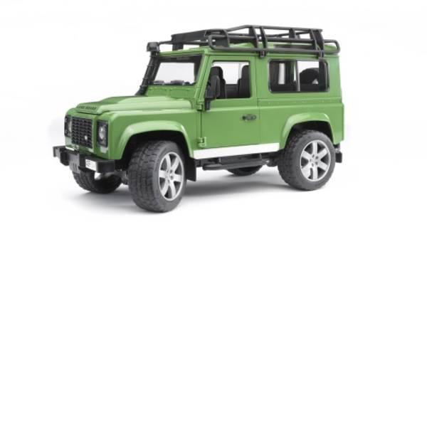 Veicoli senza telecomando - Paese Rover Defender Bruder -