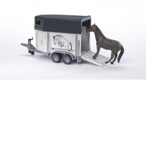 Veicoli agricoli - Cavallo bruder rimorchio di trasporto con cavallo -