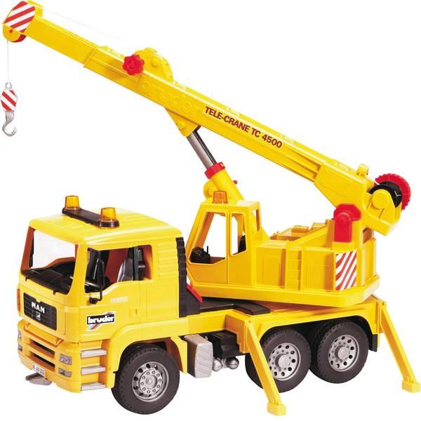 Veicoli industriali e veicoli da cantiere - MAN TGA Bruder Camion gru -