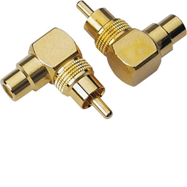 Cavi e connettori RCA HiFi per auto - Adattatore angolato RCA Sinuslive CWS [1x Spina RCA - 1x Adattatore RCA] -