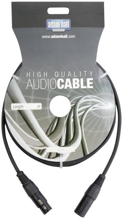 DMX Cavo di collegamento [1x Spina XLR - 1x Presa XLR] 10 m AH Cables KDMX10
