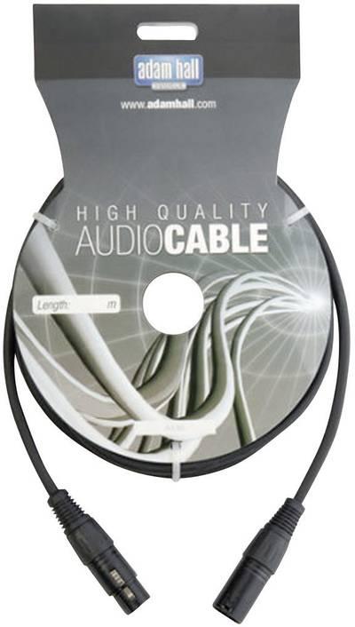 DMX Cavo di collegamento [1x Spina XLR - 1x Presa XLR] 30 m AH Cables KDMX30