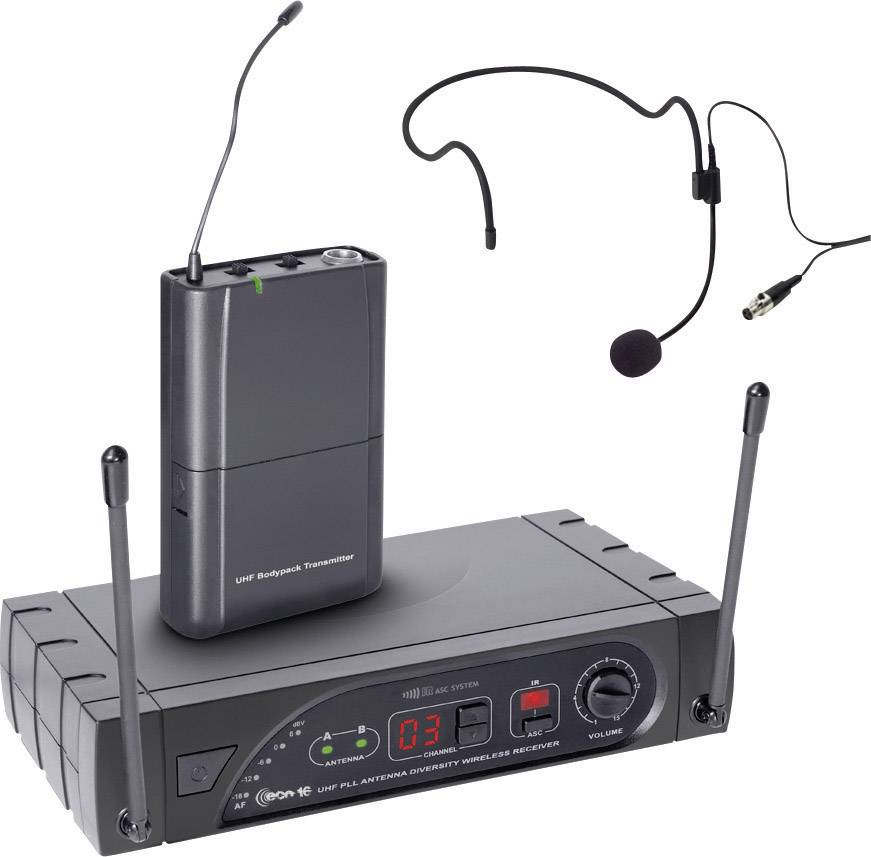 Kit microfono senza fili ad ar