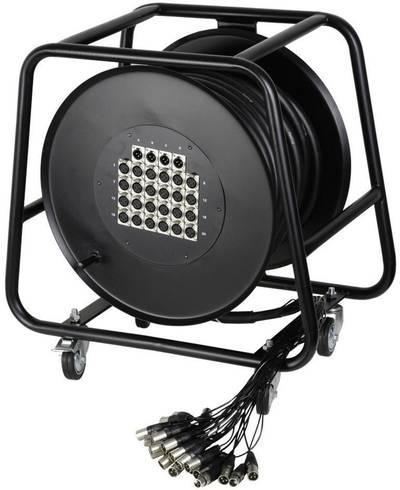 Avvolgicavo Multicore 50 m AH Cables K20C50D Numero di ingressi:16 x Num. uscite:4 x