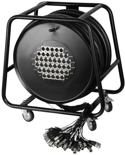 Avvolgicavo Multicore 50 m AH Cables K40C50D Numero di ingressi:32 x Num. uscite:8 x