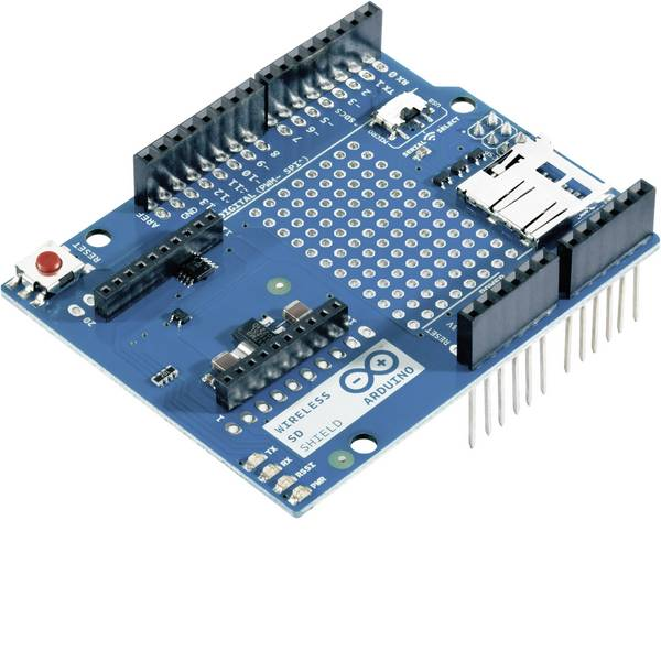 Shield e moduli aggiuntivi HAT per Arduino - Shield Arduino Shield SD wireless 65188 Adatto per (scheda): Arduino, Arduino UNO -